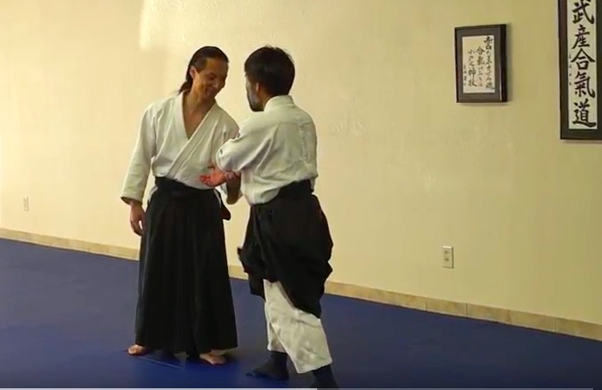 no information at the contact point in Aikido